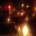 lobster,lemon pie and flamenco guitar music.