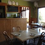 homely restaurant. pizzeria section