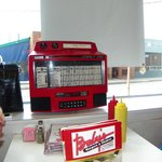 Juke Box for playing 50's music at your booth