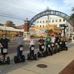 Taking my son and 7 of his friends on a Segway Tour in Ybor City