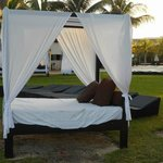Free pool cabanas (the ones on the beach are extra)