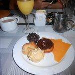Dessert @ the buffet - endless options