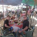 Enjoying this,wonderful beach bar/restaurant!