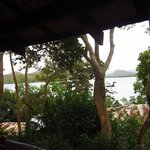 Private balcony facing Coron bay