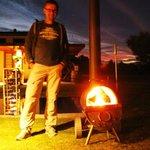 Feuer im Beer-Barel... love it!
