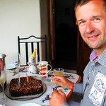Sektfrühstück zum Geburtstag meines Mannes...