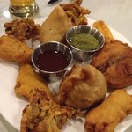 Mixed appetizers, a great value at $10