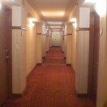 Hallway to my corner room