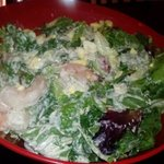 Full salads are huge.