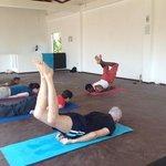 Asiri's yoga class