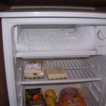 Freezer full of ice