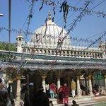 The shrine of Hazrat Nizamuddin Auliya