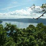 裏摩周展望台から見る摩周湖