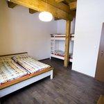 Loznice 4luzkovy apartman, sypialnia 4ro osobowy apartament