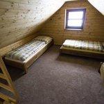 Podkrovni loznice u 5 luzkoveho apartmanu, sypialnia na poddaszu u 5cio osobowego apartamentu