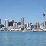 Auckland City from the Cruise