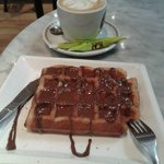 Gofre+café