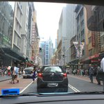 Driving in Sydney CBD on Boxing day - fresh mob everywhere