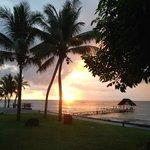 Sunset at Le Meridien, Mauritius
