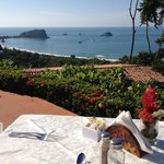 Wonderful Complimentary Breakfast with breathtaking views