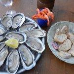 hum entre huîtres et crevettes...