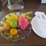 Fruits in room.