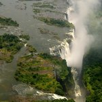 Shearwater helicoper flights over Victoria Falls