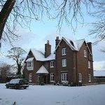 Snowy Rectory