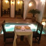 Riad Baba Ali Dinner Table