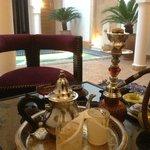 Tea and Shisha in Riad Baba Ali