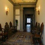 ...L'ingresso della Villa...