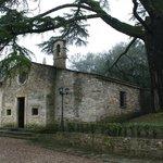 ...La Chiesetta della villa sotto l'albero secolare...