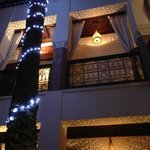Riad at night