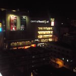 Night view of the hotel (Shopping Center)