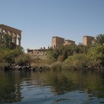 Philae Temple complex on Agilkia island