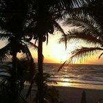 Sunrise from Veranda