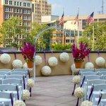 Roof Top Wedding