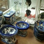 Talavera hand-made Mexican toilets