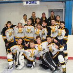 Iroquois Falls Champs 2013 stayed with us at the Leisure Inn.  Congratulations guys