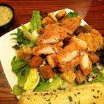 Napa salad. with house vinegrette YUMMY!