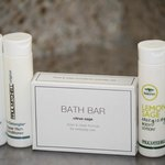 Quality bath amenities