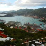 View of Charlotte Amalie from Paradise Point