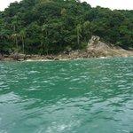 llegando a las ilhas boicucanga