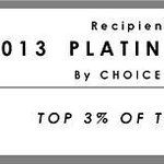 2012 Choice Hotels Platinum Award!