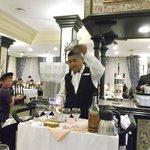 buffet Flaming Spanish Coffe
