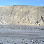 Lahar on the way to the Crater