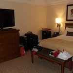 Executive suite bed area