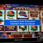 My Jackpot! Whoo Hooo!