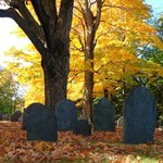 Old Burial Ground with Autumn Colors
