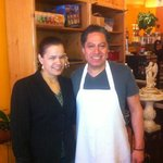 Owners Maria and Damian